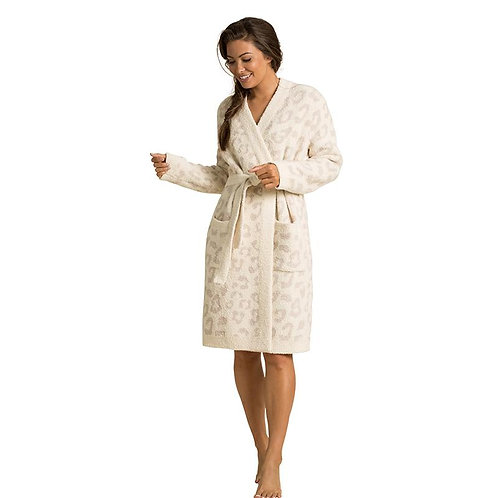 Leopard Plush Robe