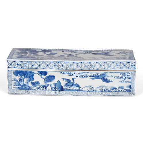 Blue White PorcelainBox