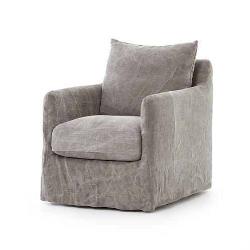 Stonewashed Swivel Chair