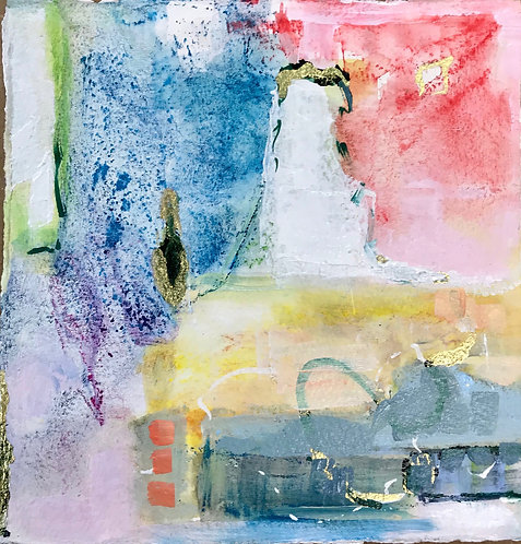 """""""Pastel Abstract Series I & II"""""""