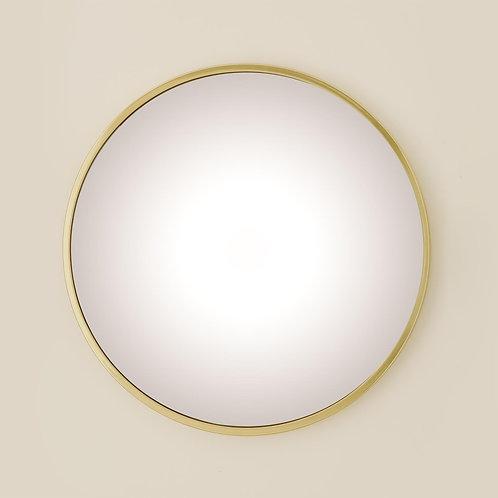 Hoop Brass Mirror