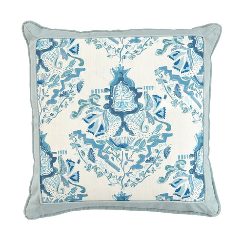 French Blue Victoria Pillow