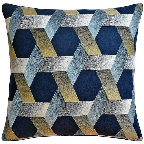Inkwood Hexagon Pillow