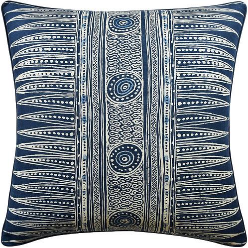 Indigo Zag Pillow