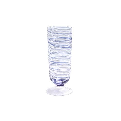 Swirl Champagne Glass