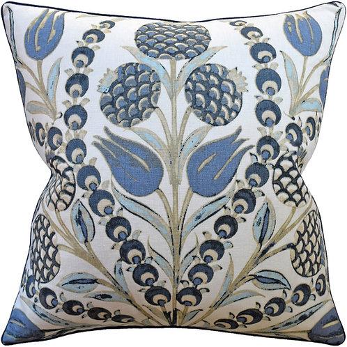 Blue Cornelia Pillow