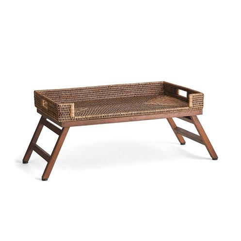 Rattan Lap Tray Table