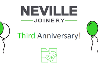 Third Anniversary for Joinery