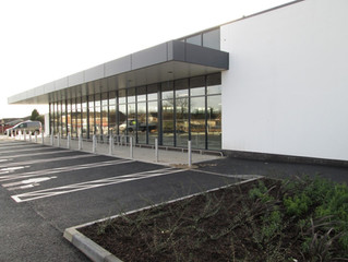 We're looking forward to the new Aldi store opening!