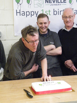 Neville Joinery Ltd is one year old!