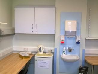 New area for nurses at Milton Keynes Hospital