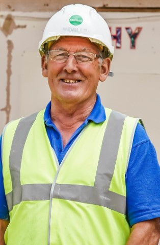 A very happy retirement to John!