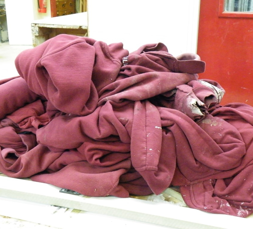 Joinery discarded jumpers