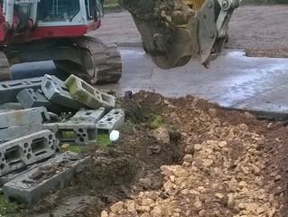 Just digging Biggleswade Academy