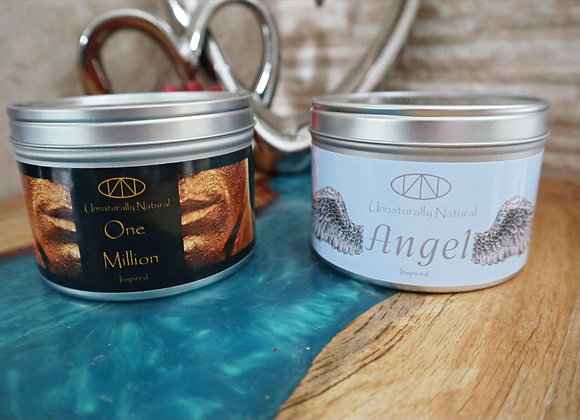 Designer Inspired Large Soy Wax Candle - Double Cotton Wick
