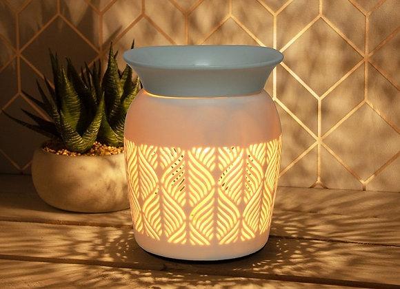 Ceramic Electric Aroma Lamp - Aztec