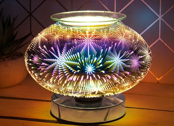Touch Sensitive 3D Electric Wax Melter/Aroma Lamp - Astral - Wide