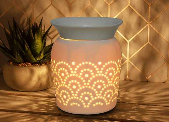 Ceramic Electric Aroma Lamp - Fan