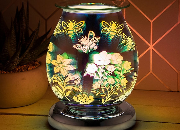 Touch Sensitive 3D Electric Wax Melter/Aroma Lamp - Busy Bees
