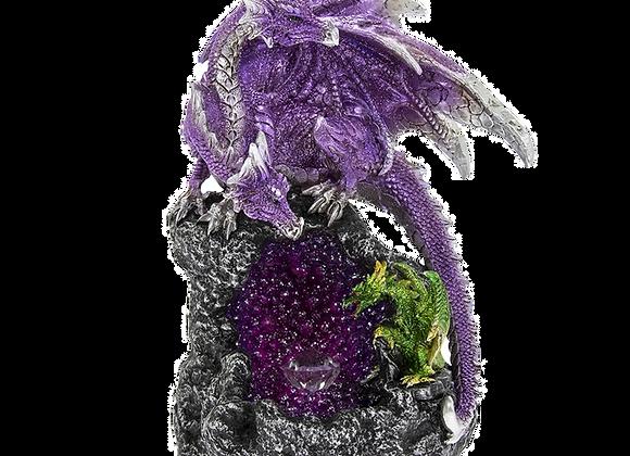 Dragon Figurine - LED Colour Changing
