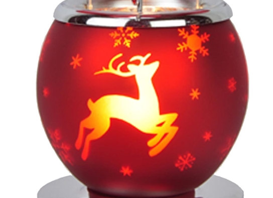 Red Reindeer - Electric Aroma Lamp/Wax Melter