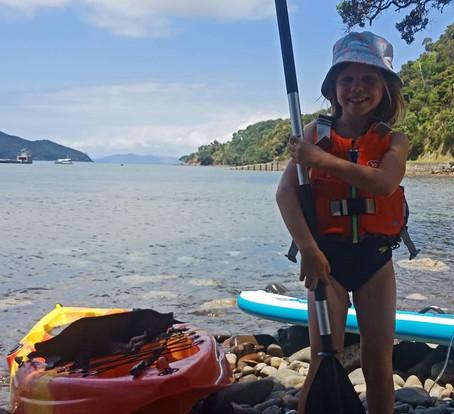 Kids watersports
