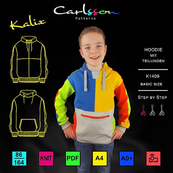 KALIX K1409 Hoodie Kinder 86-164