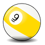 2478-illustration-of-a-9-pool-ball-or.pn