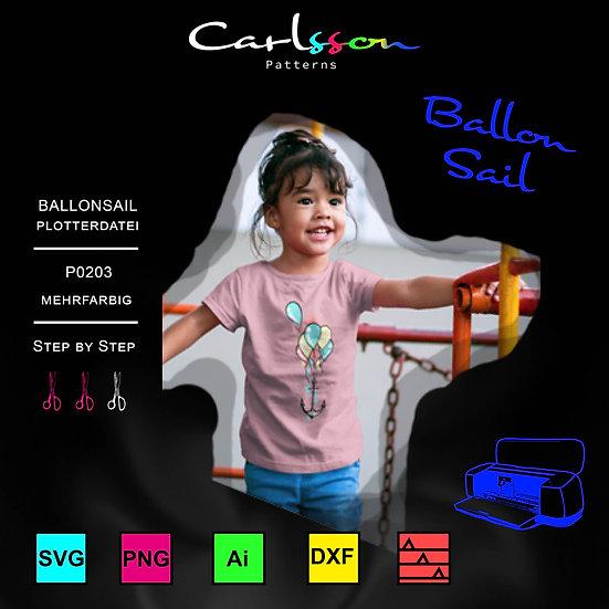 BallonSail P0203 Plotterdatei