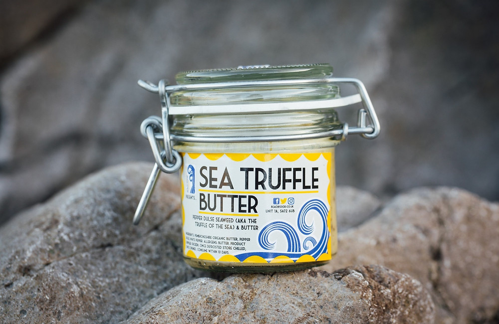Sea Truffle Butter from Pembrokeshire Beach Food - Top of the Woods camping & glamping supporting Small Business Saturday