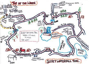 Secret Waterfall Trail Updated Aug 2020.