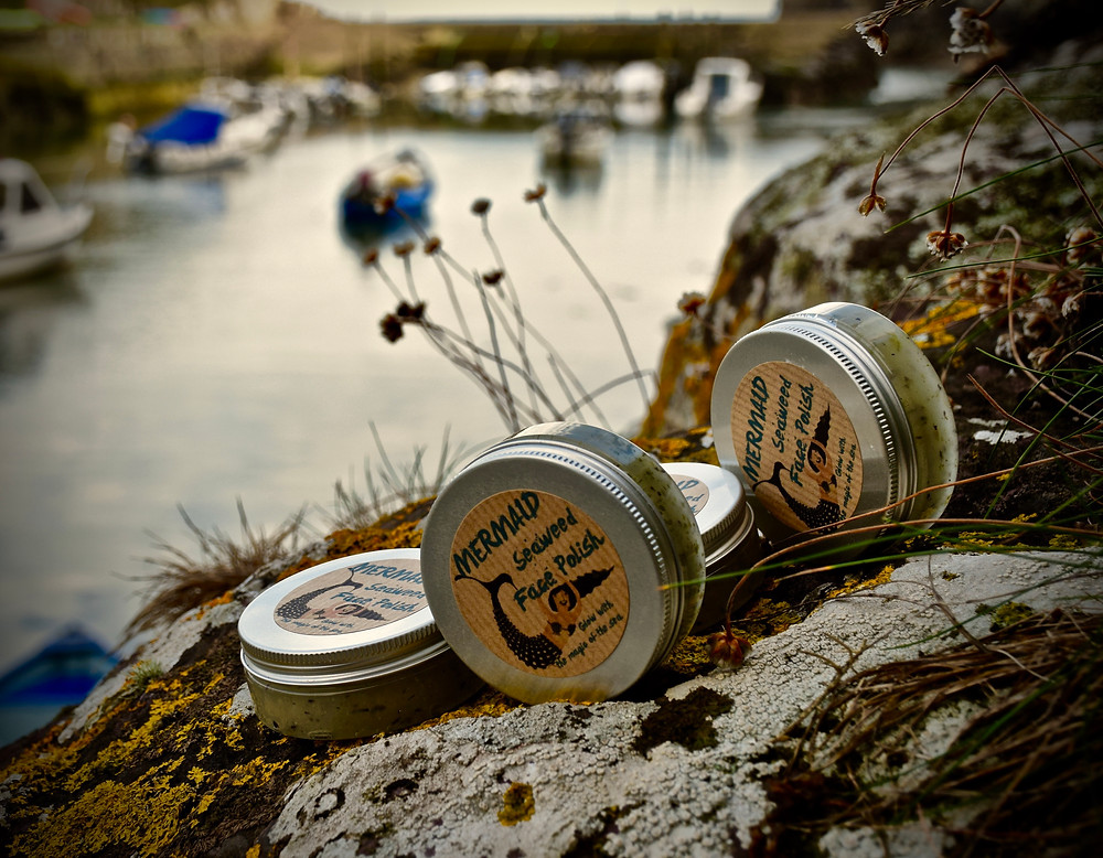 Mermaid Seaweed Face Polish from Really Wild Soap - Top of the Woods camping & glamping supporting Small Business Saturday
