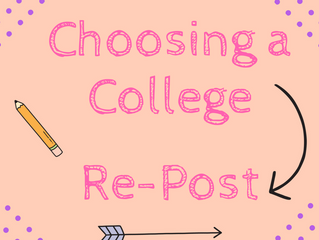 Three Steps to Choosing a College | for High School Seniors