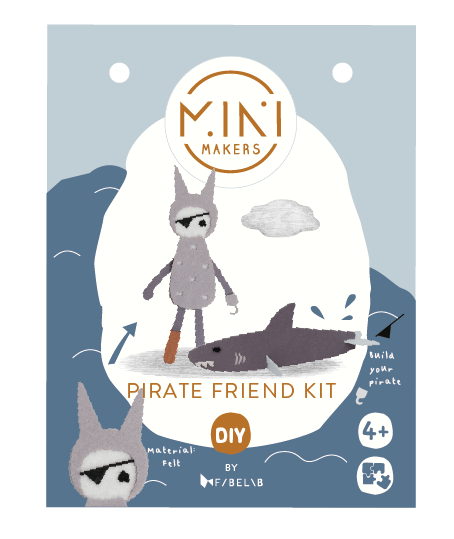 Minimakers Bastelset Pirat