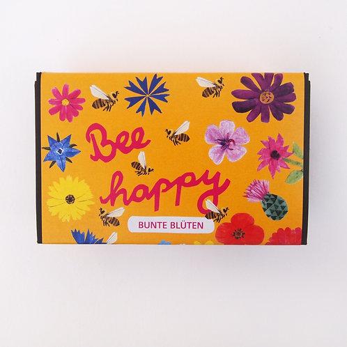 Blumenkugeln Bee Happy Bunte Blüten