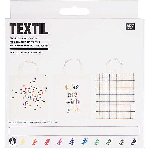 Textilstifte Set Basic