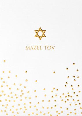 Grußkarte Mazel tov