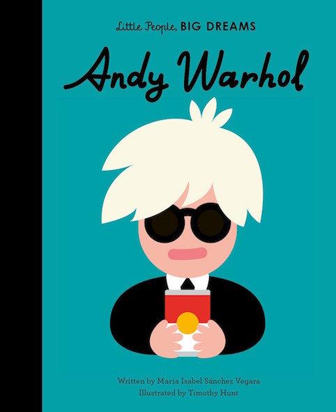 Little People, BIG DREAMS Andy Warhol (englisch)