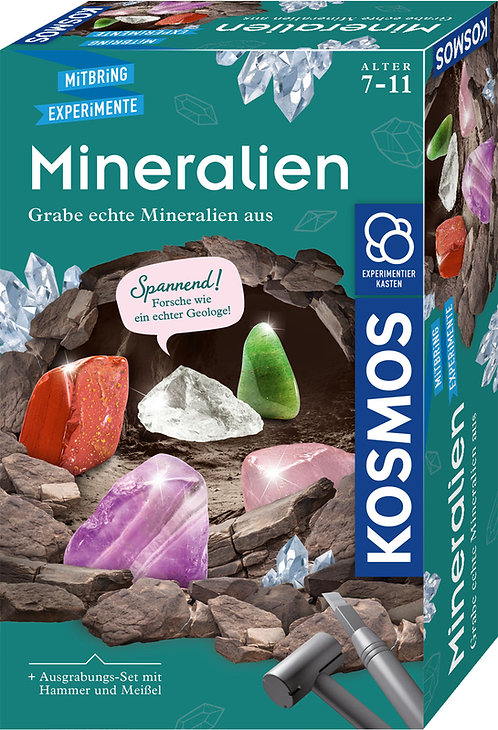 Mitbringexperiment Mineralien