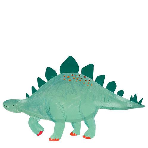 Dino Servierplatte Stegosaurus