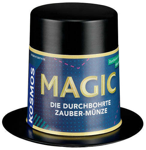 Magic Mini-Zauberhut Zaubermünze