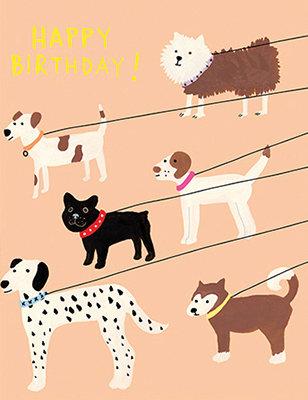 Grußkarte Happy birthday!