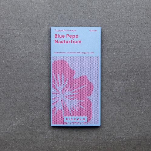 Saatgut Kapuzinerkresse Blue Pepe Nasturtium