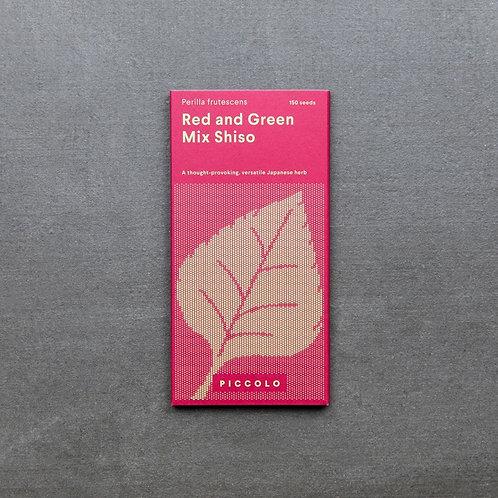 Saatgut Shiso Red and Green Mix