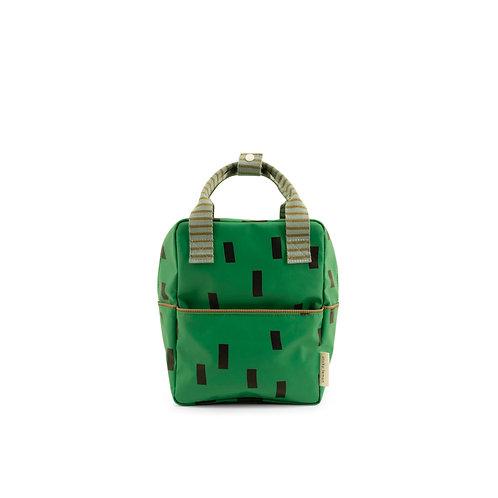 Rucksack Sprinkles klein grün/blau