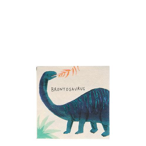 Dino Servietten klein