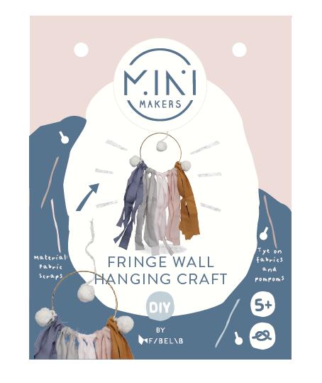 Minimakers Bastelset Fransen Wanddekoration