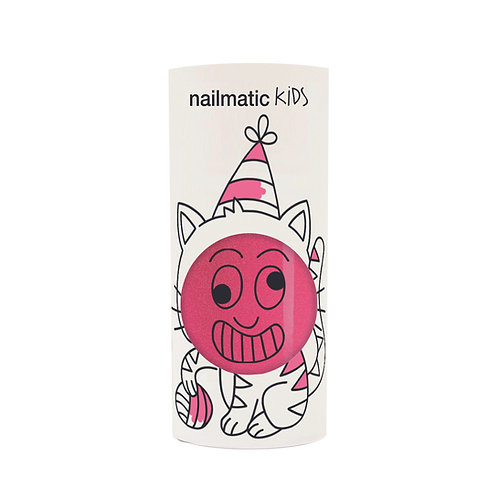 Kindernagellack Kitty pink glitzer
