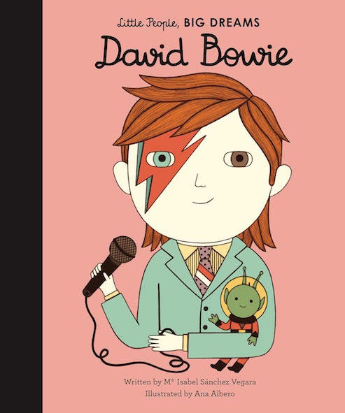 Little People, BIG DREAMS Davie Bowie (englisch)
