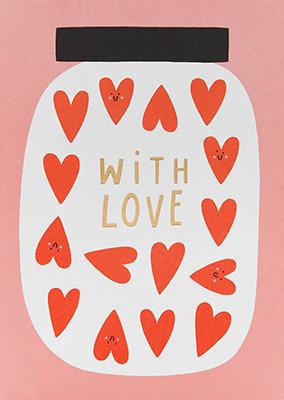 Grußkarte With love